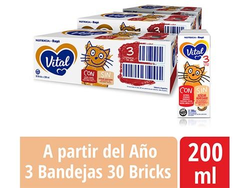 Pack Vital 3 Bricks 200ml
