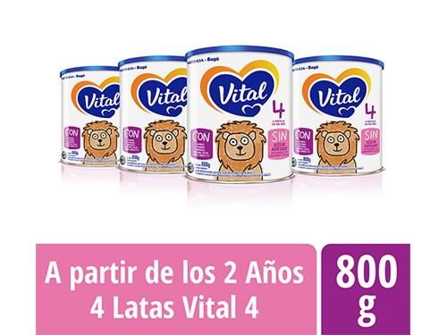 Pack Vital 4 Lata 800gr