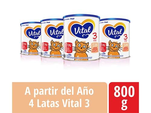 Pack Vital 3 Lata 800gr
