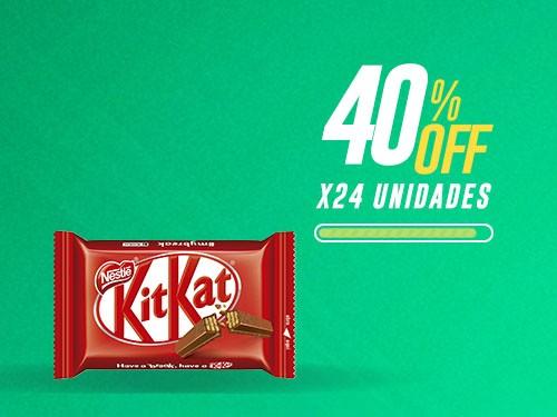 KitKat 4 Finger - 24 unidades x 41,5gr