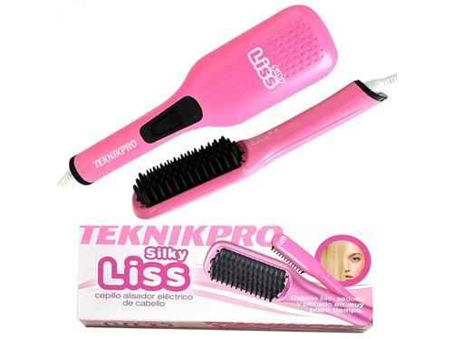 Cepillo Alisador Teknikpro Silky Liss