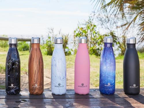 Botella de Hidratación Térmica Acero Inoxidable Reutilizable