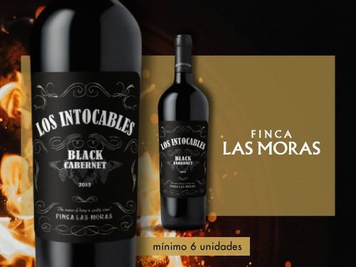 Vino tinto - Los Intocables Cabernet Sauv. 750ml. - Finca Las Moras