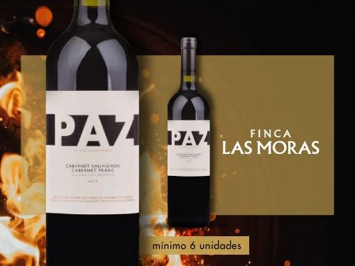 Vino tinto - Paz Cabernet - Cabernet Franc 750ml. - Finca Las Moras