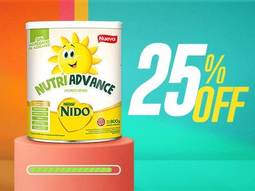 Nido Nutri Advance 800gr