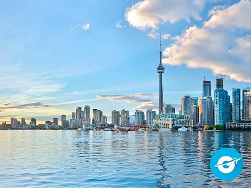 Vuelo a Toronto en oferta. Pasaje Aéreo barato a Canada.