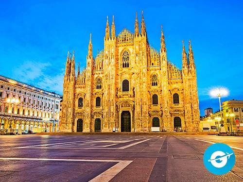Vuelo a Milán en oferta. Pasaje Aéreo barato a Italia. Europa