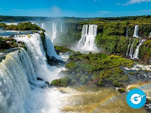 Vuelo a Puerto Iguazú en oferta. Pasaje Aéreo barato a Cataratas.