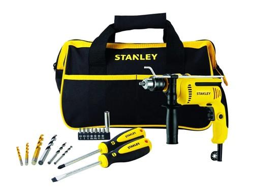 Taladro Percutor 700w + Bolso + Accesorios Stanley Sdh700ba