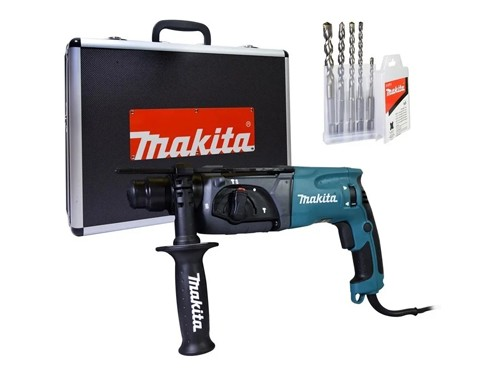 Rotomartillo Makita Maletin Aluminio 780w 2,4j Con Accesorio