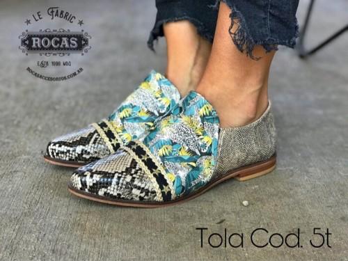 Zapato Mocasín Mujer  Tola Rocas