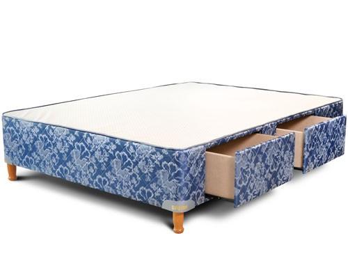 Box 2 plazas 140x190 con cajones y corredera metalica