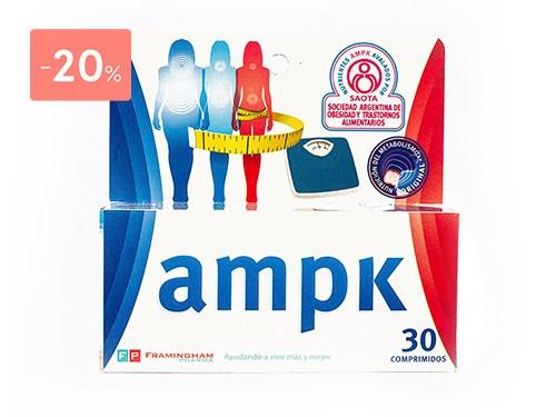 AMPK SUMPLEMENTO AMPK 30 COMPRIMIDOS