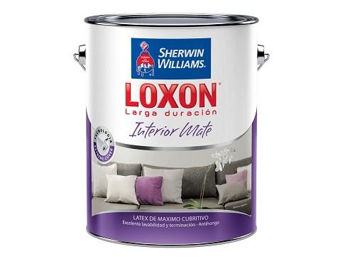SHERWIN WILLIAMS LATEX LOXON LARGA DURACIÓN INTERIOR 4 lts