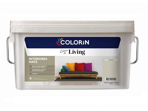 COLORIN LATEX INTERIOR LIVING 4 LTS