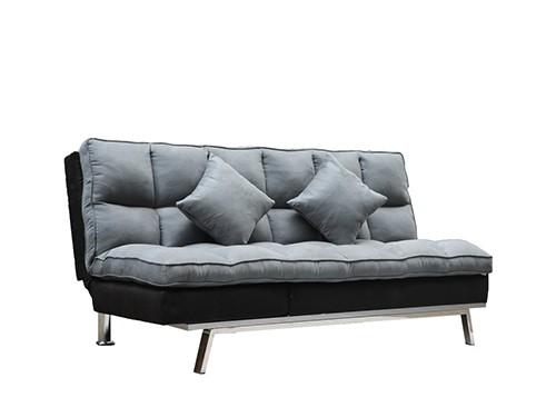 Sofa Cama de 2 Cuerpos Gris Messina