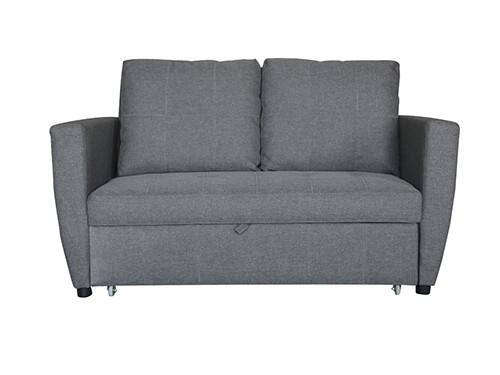Sofa Cama 2 Cuerpos Gris Oscuro India