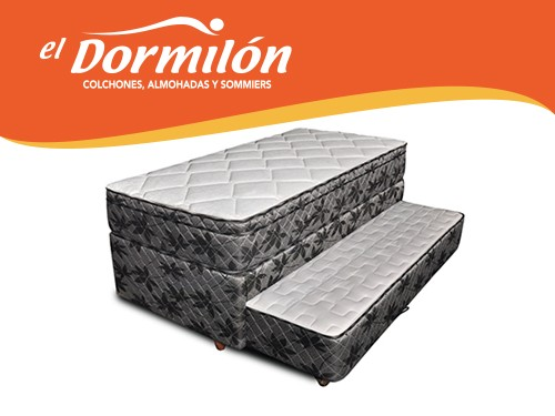 Divan Cama 1 Plaza 90x190 El Dormilon