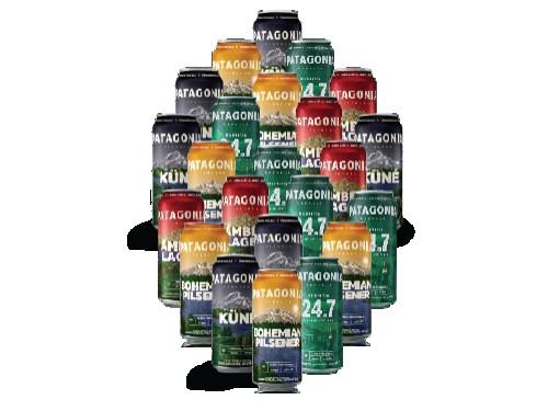 Pack 24 Latas Cerveza Patagonia