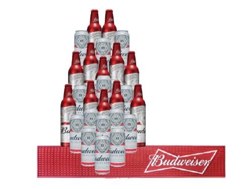 Pack Mix Budweiser con Beermat