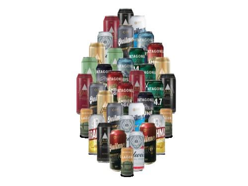 Pack de 36 Latas Cervezas Nacionales