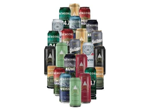 Pack de 24 Latas Cervezas Nacionales