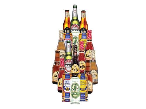Pack de 18 Cervezas Belgas y Alemanas