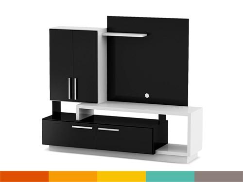 Home TV 50 Blanco y negro