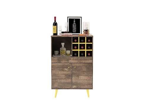 Mueble Organizador Bar Tono Roble Ottilia