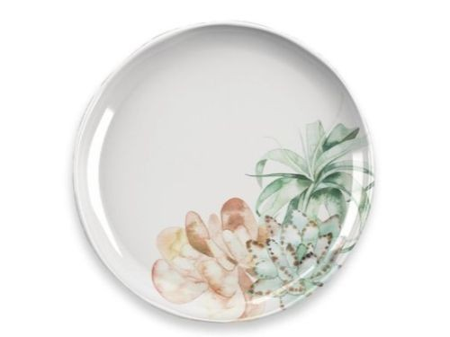 Set por 4 platos playos Blossom 26cm
