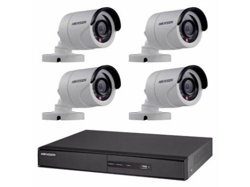 Kit Seguridad Hikvision Dvr 8 + 4 Camaras 2MP