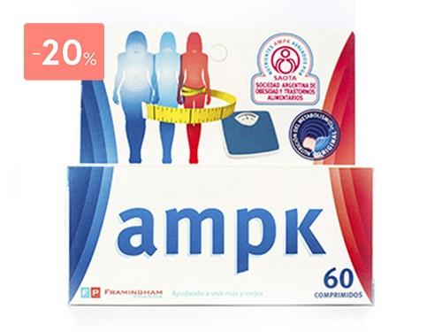 AMPK SUPLEMENTO AMPK 60 COMPRIMIDOS