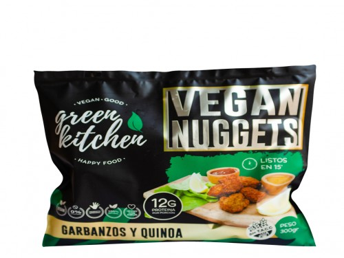 Nuggets Veganos Quinoa y Garbanzo de Green Kitchen