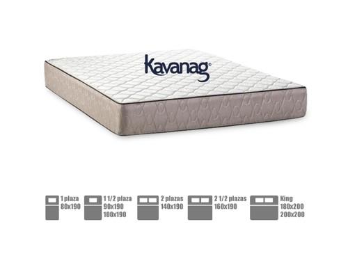 Colchón de resortes premium 5 años de garantía Kavanag