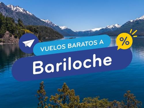 Vuelos en oferta a Bariloche - Compra flexible y en cuotas!