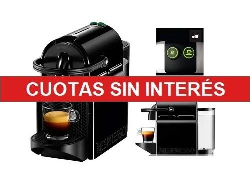 Maquina De Cafe Nespresso Inissia Black