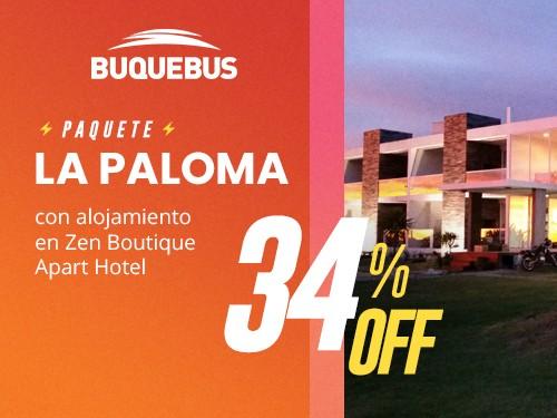 Paquete La Paloma - 3N - Barco a MVD + Bodega + Hotel Zen Boutique