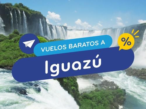 Vuelos baratos a Iguazú - Compra flexible y en cuotas!
