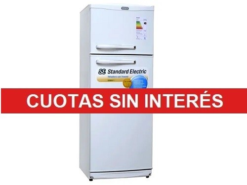 Heladera Cycle Defrost Standard Electric STE-2F1600B 328L Blanco