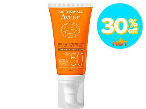 Protector Solar Avene Crema Color SPF 50+ x 50 ml