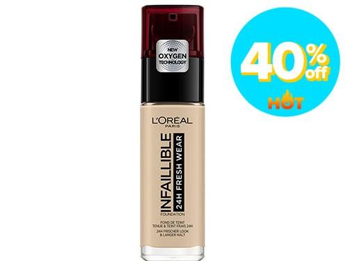 Base L'Oréal París Infaillible 130 True Beige x 30 ml