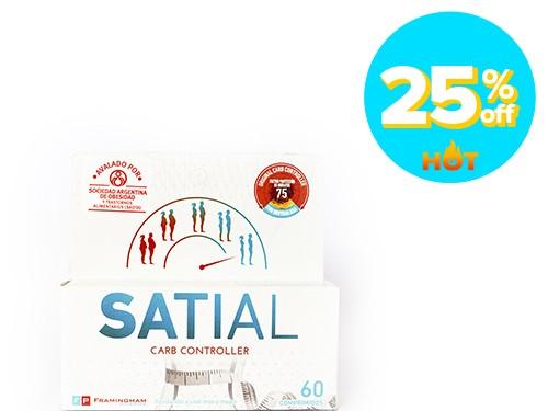 Suplemento Dietario Satial Carb Controller x 60 un