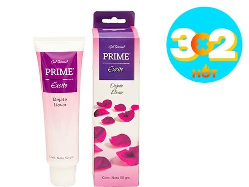 Gel Lubricante Sensual Prime Excite x 50 gr