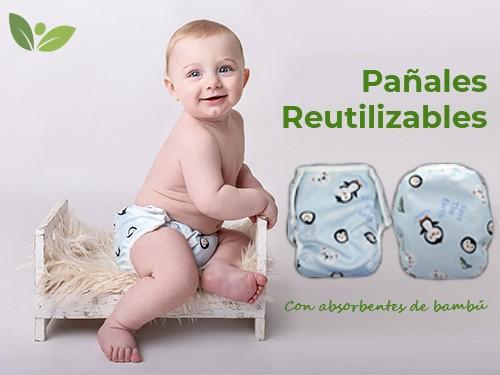 Pañal Reutilizable (Unitalla hasta 20kg) - Grinnibe