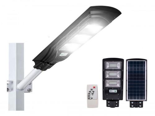 Reflector Led Solar Luminaria 90w Sensor Movimiento Exterior Control