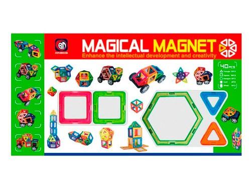 Bloques Magnéticos 40 piezas 1372762 Shine