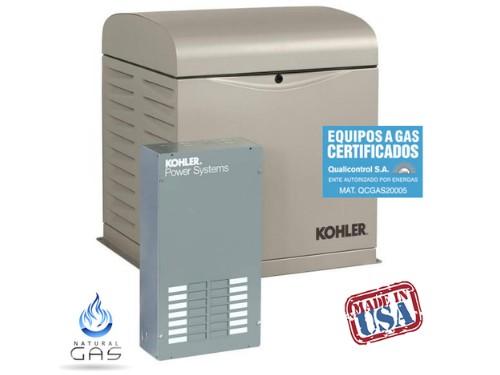 Grupo Electrógeno a Gas 10 kva Cabinado Kohler