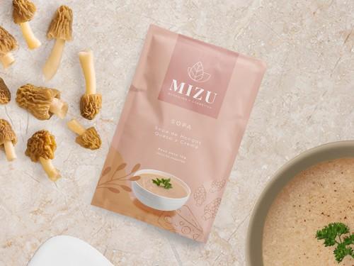 Sopa Funcional, Dietética y Gourmet de Hongos Morilla 30 sobres MIZU