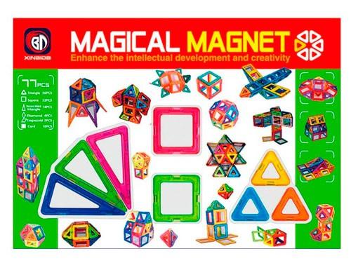 Bloques Magnéticos 77 pcs 1372765 Shine