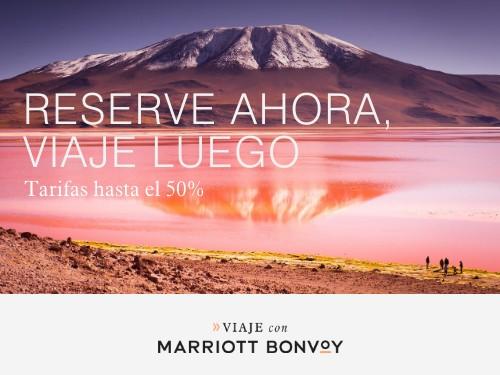 Hoteles Marriott en Bolivia. Tarifas hasta 50% Off.